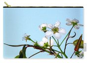 Pear Tree Blossoms 4 Carry-all Pouch