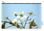 Pear Tree Blossoms 6 Carry-all Pouch