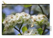 Pear Tree Blossoms Carry-all Pouch