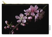 Peach Tree Blossum Carry-all Pouch