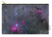 Pearl Cluster And Lambda Centauri Carry-all Pouch