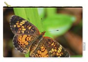 Pearl Crescent Butterfly Carry-all Pouch
