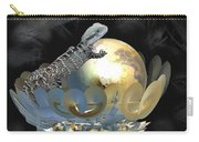 Pearl Egg Lizard Carry-all Pouch