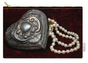 Pearls From The Heart Carry-all Pouch