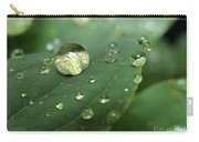 Pearls On Leaf 5 Carry-all Pouch