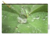 Pearls On Leaf Carry-all Pouch
