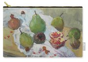 Pears Figs And Young Pomegranates Carry-all Pouch