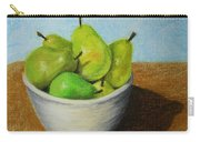 Pears In Bowl 2 Carry-all Pouch