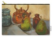 Pears With Copper Kettle Carry-all Pouch