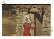 Peasant Carrying Water Carry-all Pouch