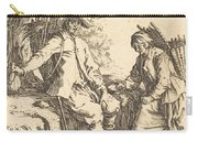 Peasant Couple At Rest Carry-all Pouch