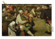 Peasant Dance Carry-all Pouch by Pieter the Elder Bruegel