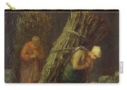 Peasant Women With Brushwood Carry-all Pouch