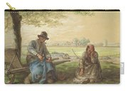 Peasants Resting Carry-all Pouch