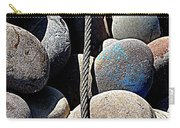 Pebbles And Cable Carry-all Pouch