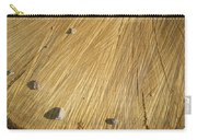 Pebbles And Texture On A Crosscut Log Carry-all Pouch