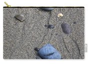 Pebbles Of Blue Carry-all Pouch