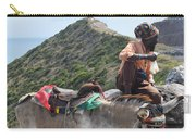 Peddler Of The Mountains Carry-all Pouch