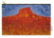 Pedernal Original Painting Carry-all Pouch