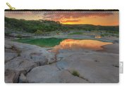 Pedernales River Sunrise, Texas Hill Country 8257 Carry-all Pouch