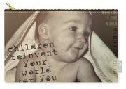 Peek A Boo Quote Carry-all Pouch