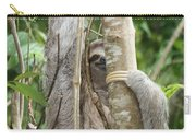 Peek-a-boo Sloth Carry-all Pouch