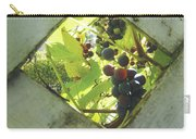 Peeking At Grapes Carry-all Pouch