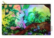 Peeking Bunny Carry-all Pouch
