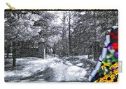 Peeling Winter Away Carry-all Pouch