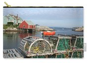 Peggys Cove And Lobster Traps Carry-all Pouch