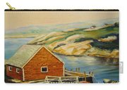 Peggys Cove  Harbor View Carry-all Pouch