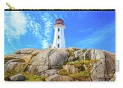 Peggy's Cove Light House Carry-all Pouch