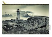 Peggys Cove Lighthouse Carry-all Pouch