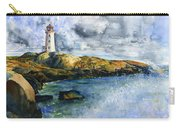 Peggy's Cove Lighthouse Landscape Carry-all Pouch