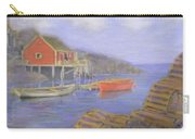 Peggy's Cove Lobster Pots Carry-all Pouch
