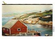 Peggys Cove Nova Scotia Landmark Carry-all Pouch
