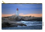 Peggy's Point Lighthouse, Nova Scotia, Canada Carry-all Pouch
