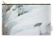 Pekka Halonen, Winter Landscape Carry-all Pouch