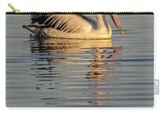 Pelican At Sunset 1 Carry-all Pouch