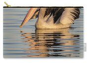 Pelican At Sunset 2 Carry-all Pouch