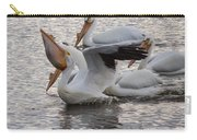 Pelican Having Supper Carry-all Pouch