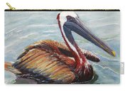 Pelican In The Water Carry-all Pouch
