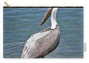 Pelican On Rock Carry-all Pouch