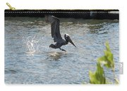 Pelican On The Waves Carry-all Pouch
