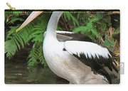 Pelican With A Bird Park In Bali Carry-all Pouch