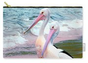 Pelicans At Pearl Beach 5.1 Carry-all Pouch