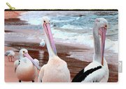 Pelicans At Pearl Beach 5.2 Carry-all Pouch