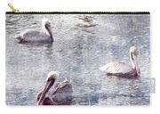 Pelicans At Rest Carry-all Pouch