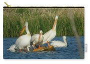 Pelicans Being Pelicans Carry-all Pouch