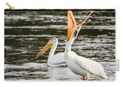 Pelicans Fishing Carry-all Pouch